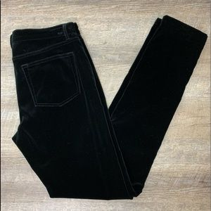 Ralph Lauren Black Label Velvet Stretch Jeans